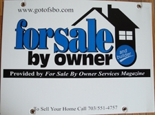 For Sale By Owner FSBO sign for Homes For Sale By Owner