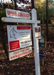 Flat Fee MLS Listing Home For Sale Post Yard Sign for For Sale By Owner Home Sellers FSBO VA Virginia