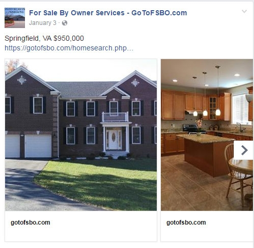 For Sale By Owner Flat Fee MLS Listing Facebook Posting 4