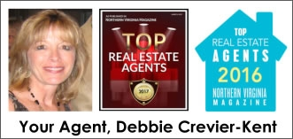 Debbie Crevier-Kent, Licensed Realtor, Top Virginia Realtor