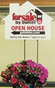 FSBO Open House Directional Sign for Flat Fee MLS Listings VA Virginiai