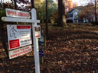 Professional Post Sign for For Sale By Owner Home Sales FSBO and Flat Fee MLS Listings