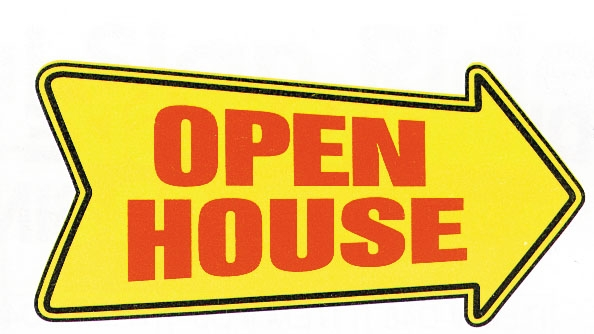 Deluxe Open House Directional Sign for FSBO MLS Listings Virginia